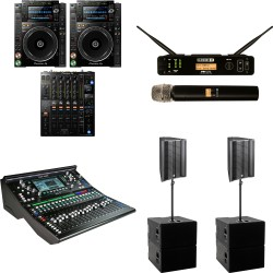 Rental PA and Audio Equipment