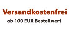 Versandkostenfrei ab 100 Euro