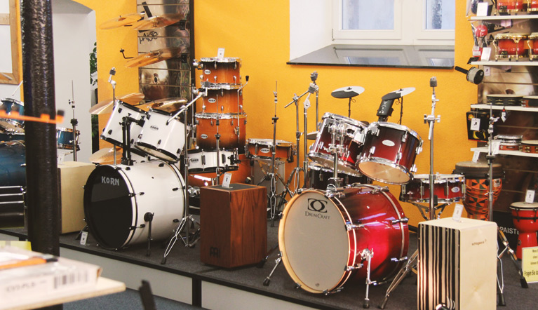 Drums section