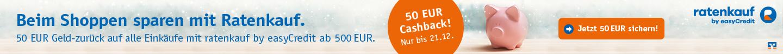 easycredit 50 Euro Cashback