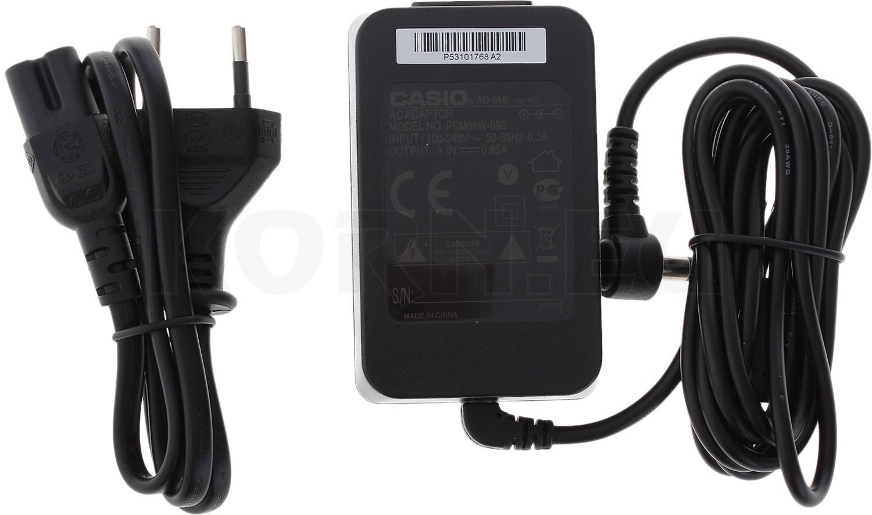 Ladekabel Netzteil Ladegerät für Casio Keyboard CTK-2100 LK-110 LK-200S