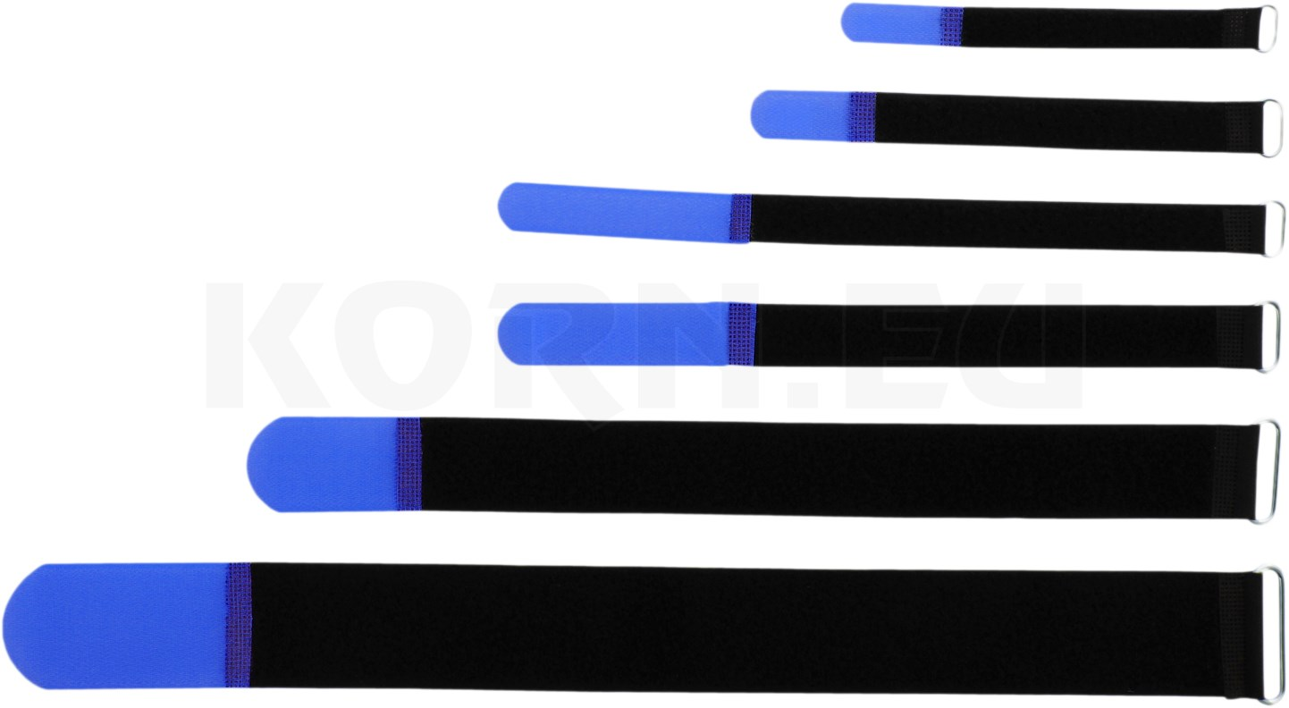 adam hall kabelbinder 40x4cm blau klettband mit musikhaus. Black Bedroom Furniture Sets. Home Design Ideas