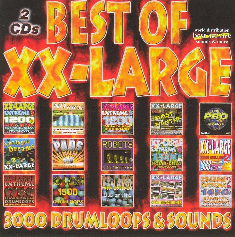 Best Service XXLarge 3000 Drumloops & Sounds (Audio-CD)