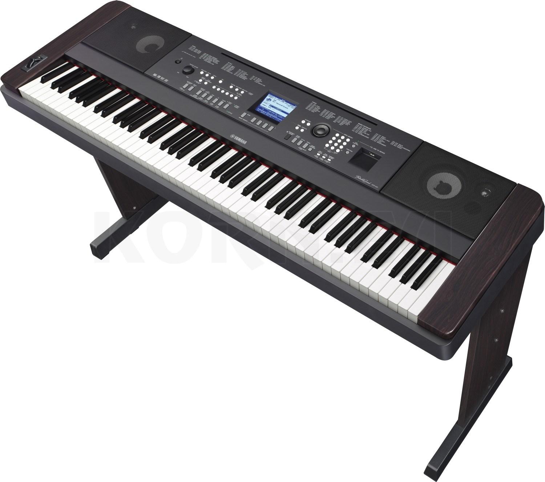 Yamaha dgx 650 b black stage piano musikhaus for Yamaha 650 piano
