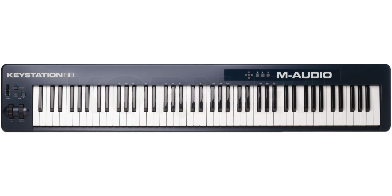 M-Audio Keystation 88 MKII   music store