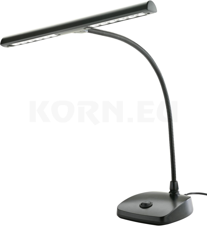 König /& Meyer 12297 LED Pianoleuchte goldfarbig