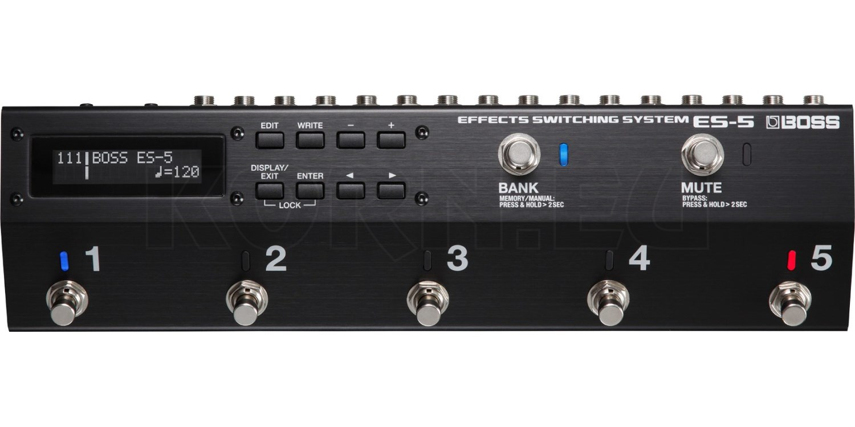 Boss ES-5 Effekt Loop Switcher