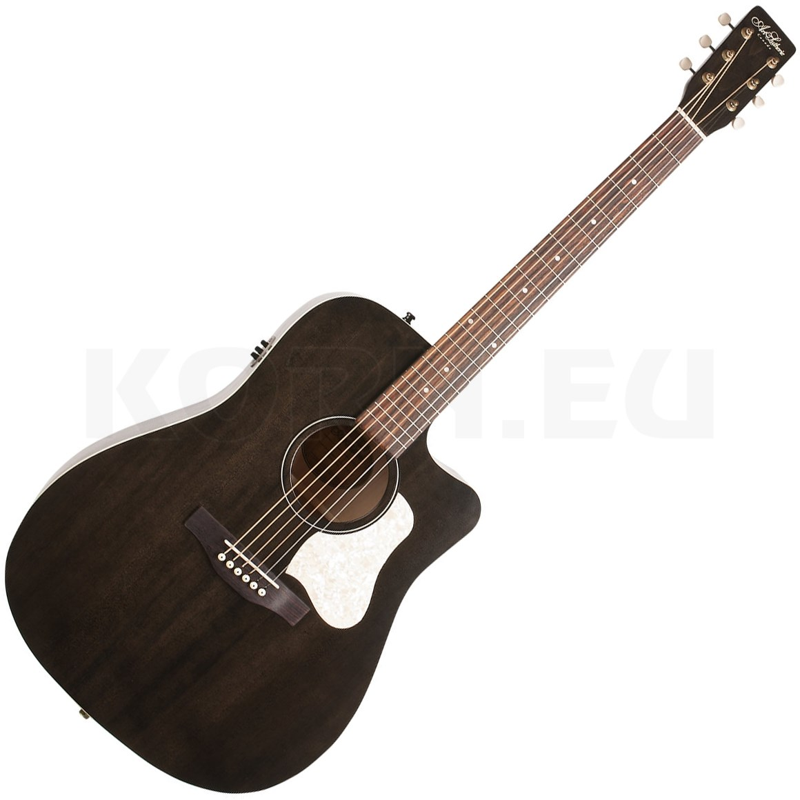 Art Et Lutherie Americana Dreadnought Qit: Art & Lutherie Americana Faded Black CW QIT...