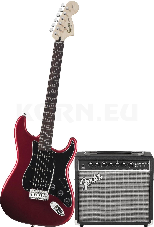 Chrom Fender Squier Stratocaster Tremolo Zubehör komplett