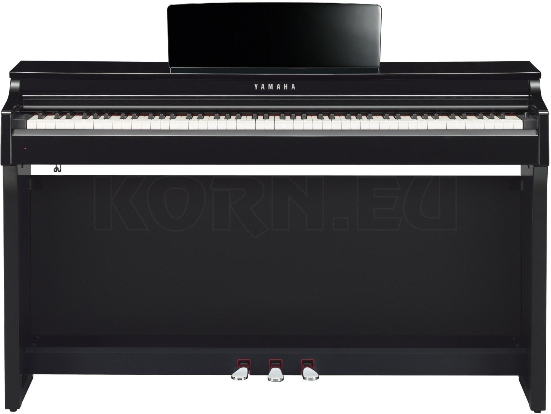Yamaha CLP-625 PE Schwarz Hochglanz Digitalpiano