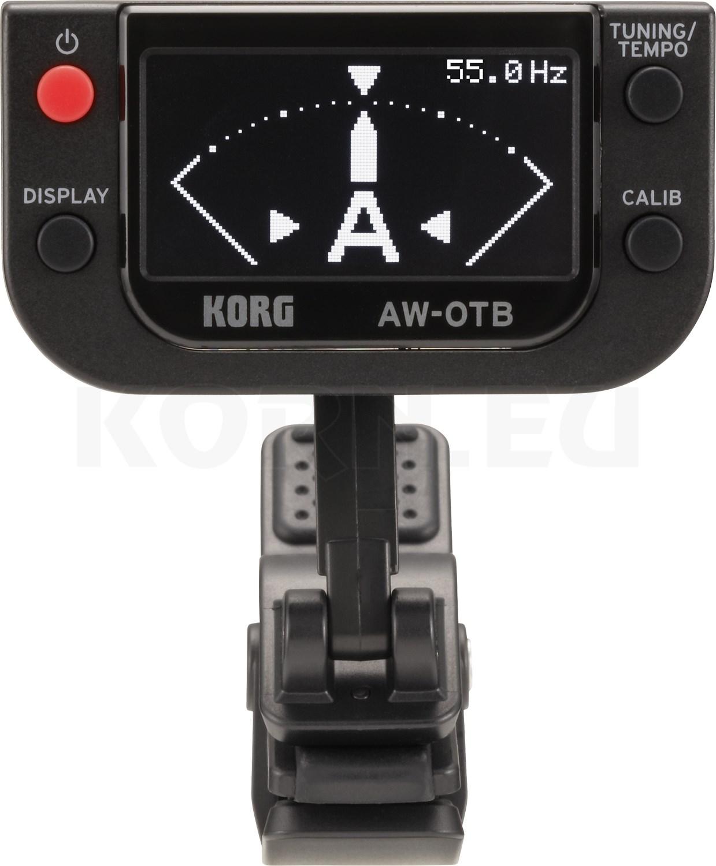 KORG AW-LT100G Clip-on Tuner Stimmgerät für Gitarre schwarz