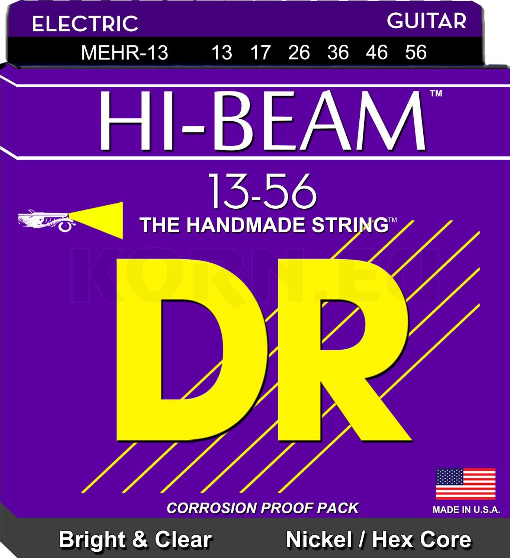 Jazz Medium 13-56 6 PK Fender 250JM Nickel Plated Steel Electric Strings