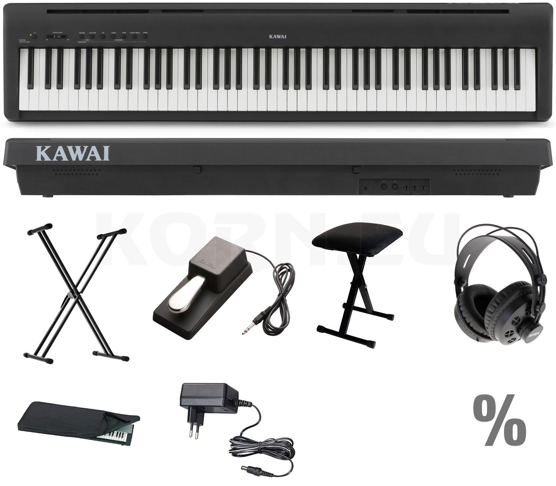 Kawai ES110 B Stage Piano X Set + KB + KS + SP + KA + KH + NT