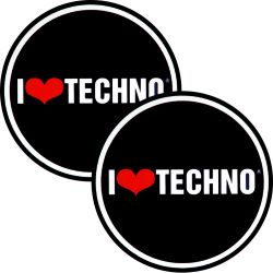 Slipmats I Love Techno