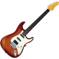 VGS Roadcruiser VST-110 Faded Tobacco Burst E-Gitarre