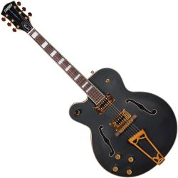 Gretsch G5191 Tim Armstrong Electromatic Black Lefthand E-Gitarre