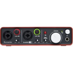 Focusrite Scarlett 2i2 2nd Gen.