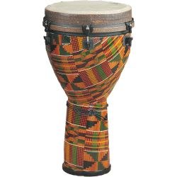 Remo African Collection Djembe 14x25 Zoll Kinte Kloth