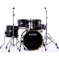 KORN Drum Schlagzeugset FireStorm I Black Hole