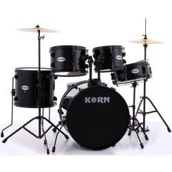 KDrum Schlagzeugset Drumset Two 22 BK