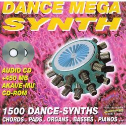 Best Service Dance Mega Synth (Audio-CD, Akai, E-mu)