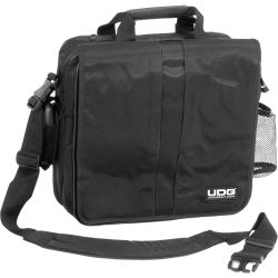 UDG CourierBag DeLuxe 17 Zoll Black, Orange inside U9490BL/OR