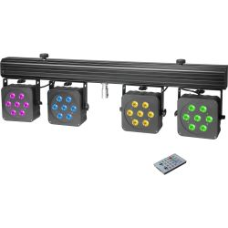 Cameo Multi PAR 3 Kompaktes 28x8 W QUAD Colour LED Set