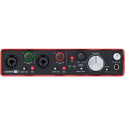 Focusrite Scarlett 2i4 2nd Gen.