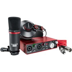 Focusrite Scarlett 2i2 Studio 2nd Gen.