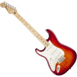 Fender Standard Strat Plus Top MN ACB Linkshänder E-Gitarre