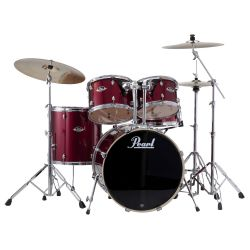 Pearl EXX725BR/C Drum Set Export Std Red Wine