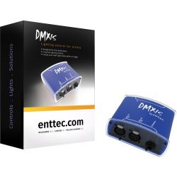 ENTTEC DMXIS DMX-Software