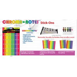 Boomwhackers CNS1 Chroma-Notes Sticker