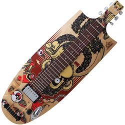 Risiro Skate Guitars Lapsteel Monkey E-Gitarre Made in Germany