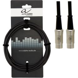 Alpha Audio Midi Kabel 3m mit Ningbo Neutrik Steckern