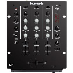 3 Channel DJ Mixers