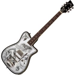 Duesenberg Alliance Series Johnny Depp E-Gitarre