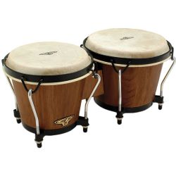 Latin Percussion CP221-DW Bongos Dark Wood