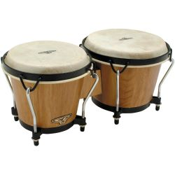 Latin Percussion CP 221-AW Bongos Natural