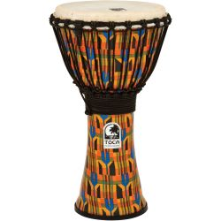 Toca SFDJ-10K Djembe Freestyle 10 Zoll Kente Cloth
