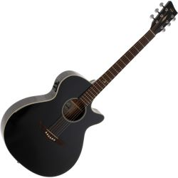 VGS E-Akustikgitarre RT-S Root Black Made in Europe
