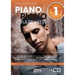 Hage - Piano Piano Chart Hits 1, Songbook + CD