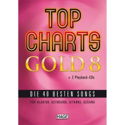 Hage - Top Charts Gold 8 + 2 CD's