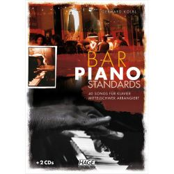 Hage - Bar Piano Standards mit 2 CDs
