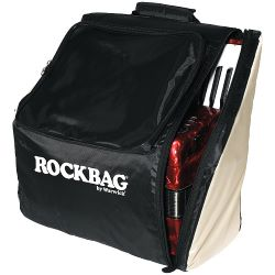 Rockbag RB 25020 B/BE Deluxe Akkordeon Bag, medium 34/72 III