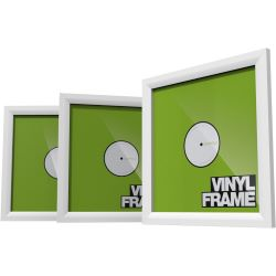Glorious DJ Vinyl Frame Set White