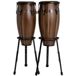 Latin Percussion LP A647B-SW Aspire Conga-Set 11+12 Walnut