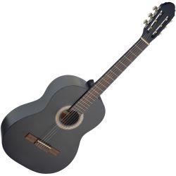Stagg C440 M BLK 4//4 Konzertgitarre schwarz matt