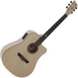 VGS E-Akustikgitarre P-10 CE Polaris Natural Satin Open Pore