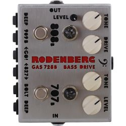 Rodenberg electronic GAS-728B+ NG - Clean Boost/Overdrive